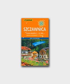 Mapa Szczawnica
